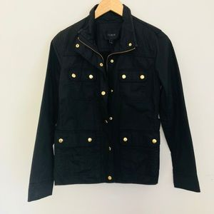 J Crew black field jacket